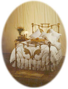Antique Iron Bed Frame Designs
