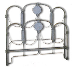Art Deco Bed Iron Beds by Cathouse