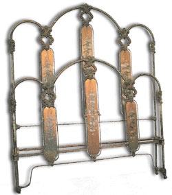 Victorian Bed Frame Style featuring Panels