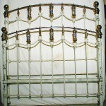 Brass Drum Bed