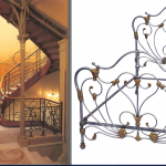 iron beds /Art Nouveau