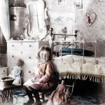 iron beds /Lillie-with-Dolls-in-Victorian-Bedroom
