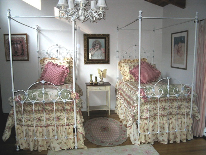 & cathouse antique iron beds vintage bed