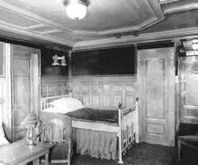 Iron Beds Made For The Titanic Cathouse Beds