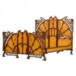 iron beds / art nouveau