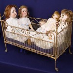 iron beds / Antique Iron Doll Beds