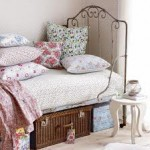 iron bed storage