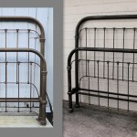 Iron bed-Craftsman King Conversion