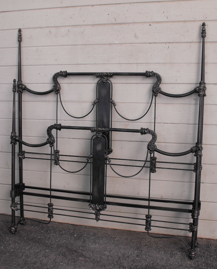 Iron Bed Four Poster Cathouse Antique Iron Beds
