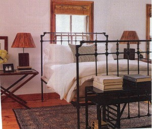 there - High Bed Frame