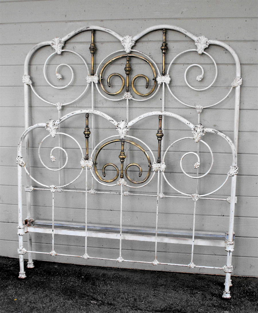 Iron Bed Frame Twin Antique
