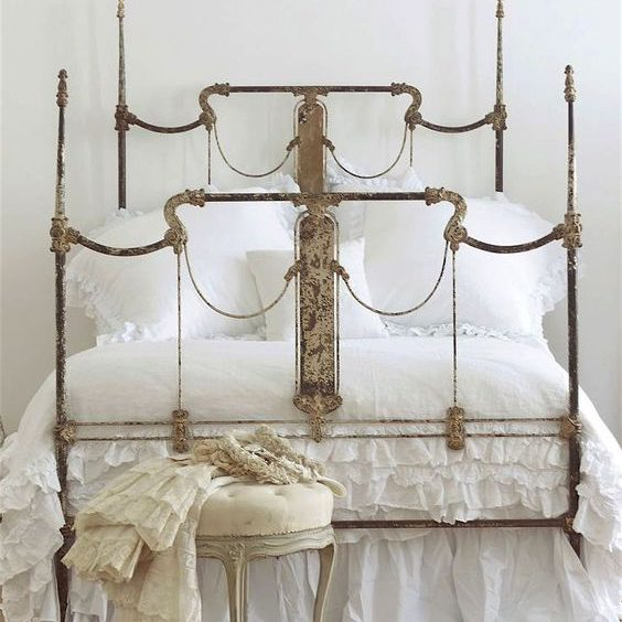 investing in antique iron beds