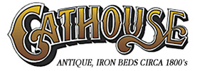 Cathouse Antique Iron Beds