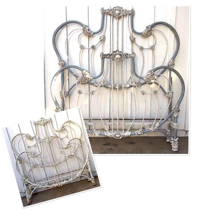 Restored Iron Beds For Sale