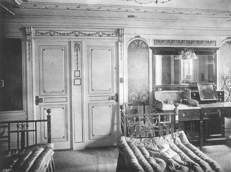 Iron Beds Made For The Titanic