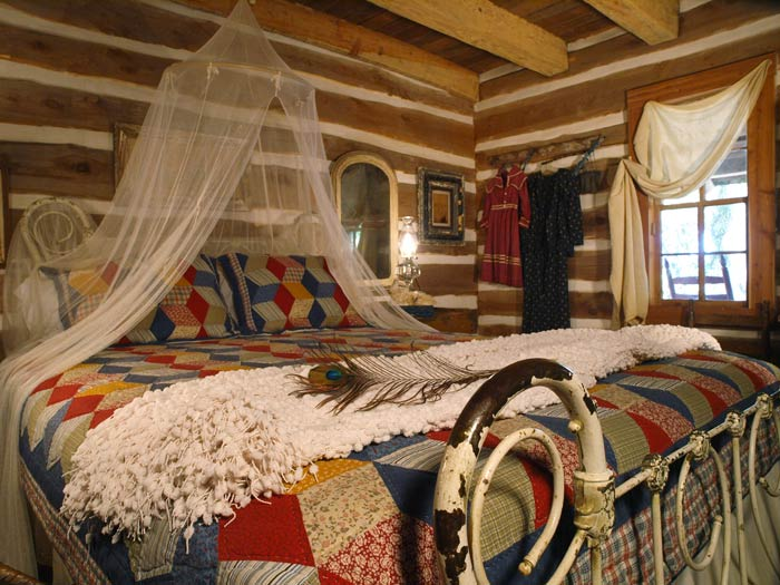 Iron Beds And Log Cabins