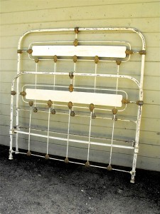 Art Deco Metal Beds Before Their Time